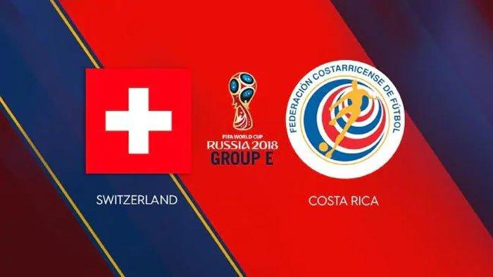 Nonton Live Streaming Piala Dunia Swiss Vs Kosta Rika di HP via Indosat, XL dan Telkomsel