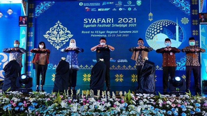 Gubernur Sumsel Herman Deru Buka Syariah Festival Sriwijaya 2021