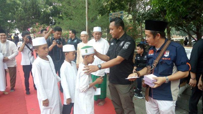 Polresta Palembang Syukuran Pelantikan Jokowi-Ma'ruf