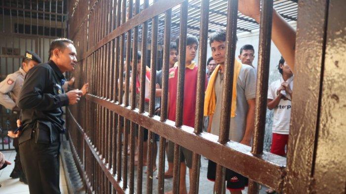 Pawas Polres Lahat Periksa 19 Tahanan