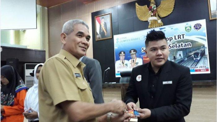 Dishub Sumsel Kenalkan dan Ajak Pelajar Mahasiswa di Palembang Pakai LRT