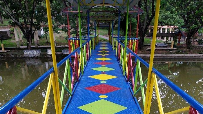 Taman Rekreasi Ribang Kemambang Lahat.