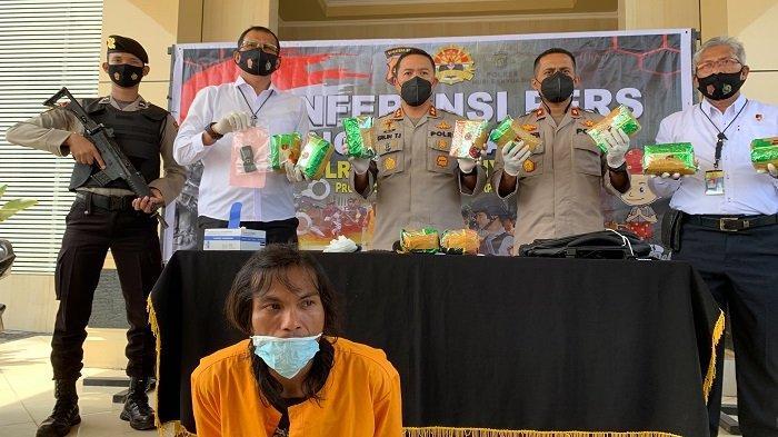 Polres MubaAmankan Sabu Senilai 10 Milyar di Sungai Lilin, Dibawa Kurir Naik Motor