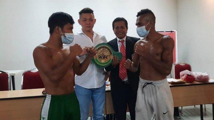 Petinju Indonesia Tibo Monabesa Sesumbar KO Petinju Filipina, Incar Gelar Kelas Light Heavyweight