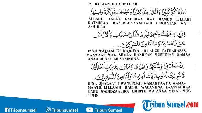 Bacaan Niat Dan Tata Cara Sholat 5 Waktu Lengkap Dengan Tulisan Latin Arab Dan Terjemahan Artinya Halaman All Tribunstyle Com