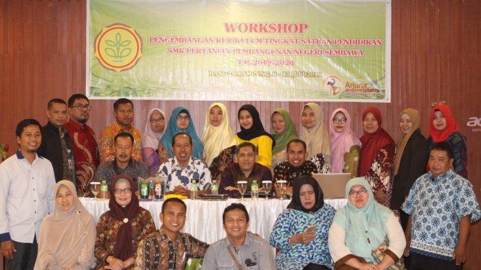 Tingkatkan Kualitas Pembelajaran, SMK PP Negeri Sembawa Gelar Workhsop Pengembangan Teaching Factory