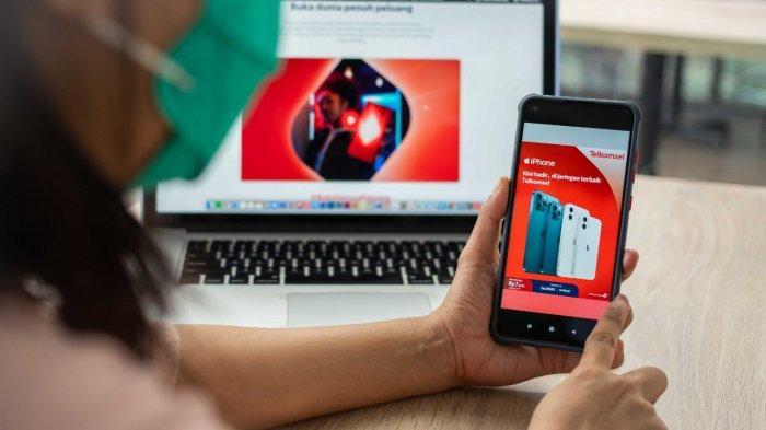 "Telkomsel Hadirkan ""The Best iPhone Experience"" Melalui Dukungan Konektivitas Digital Terbaik"
