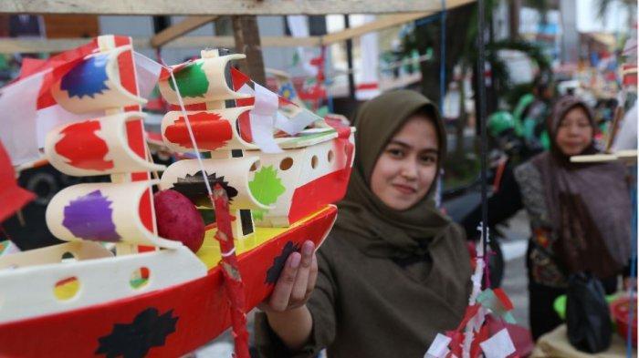 Mengenal Makanan Tradisional Palembang Telok Abang dan Telok Ukan, Biasa Muncul di Momen HUT RI