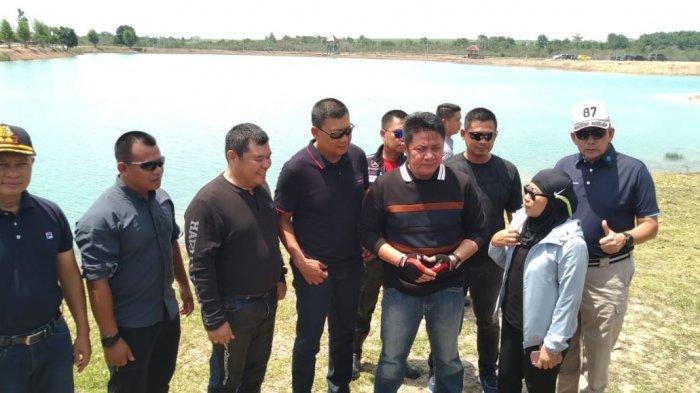 Kawasan Teluk Seruo Destinasi Wisata Andalan Terbaru Ogan Ilir, Danaunya Berbentuk Kupu-kupu