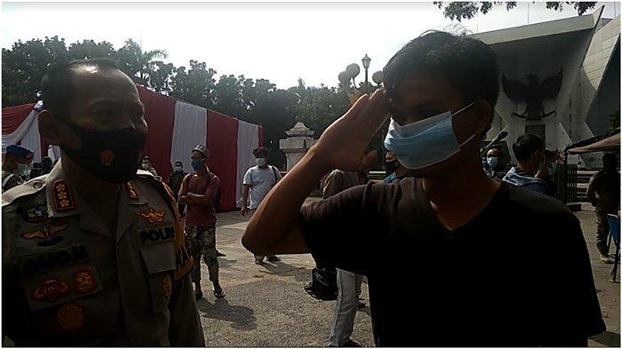Tak Pakai Masker dan Terjaring Razia di Palembang, Pemuda Ini Mengaku Berasal dari Cahaya Bulan