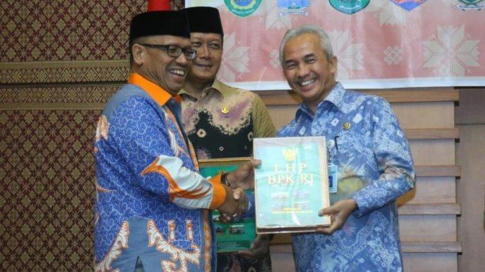 Pemkot Palembang dan DPRD Palembang Terima Laporan Hasil Pemeriksaan BPK RI
