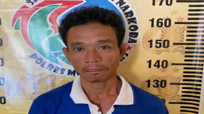 Digerebek di Rumahnya, Pengedar Narkoba di Musirawas Pasrah 32 Paket Ditemukan Polisi