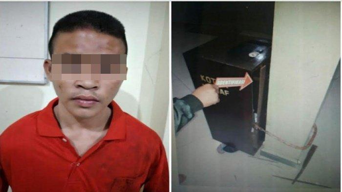 Sembunyi di Toilet Masjid, Remaja 17 Tahun di Lubuklinggau Curi Kotak Amal, Dipakai Foya-foya