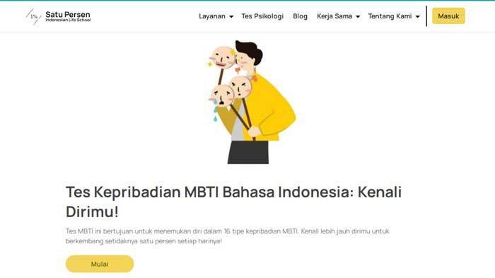 Tes Kepribadian MBTI Berbahasa Indonesia, Mengenali Kecenderungan Dirimu dari 40 Soal yang Dijawab