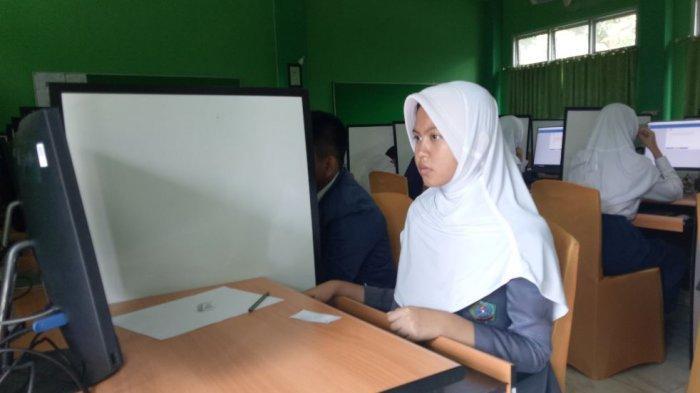 Pakai Sistem Komputer, Tes Masuk Jalur Mandiri SMA Negeri 17 Palembang Dijamin Tanpa Kecurangan