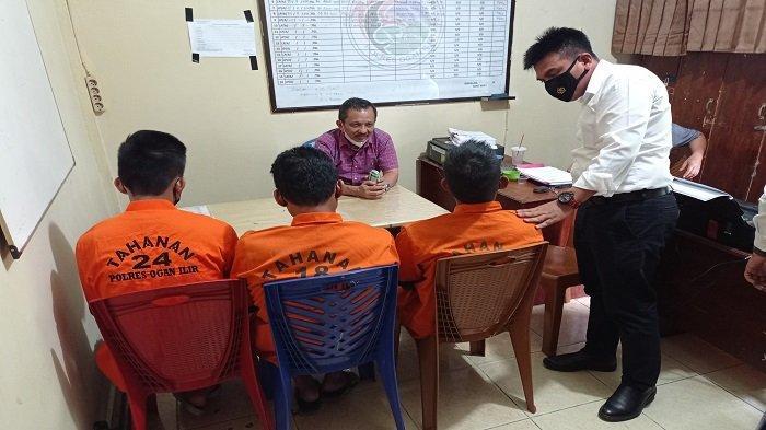 Transaksi Narkoba di Hutan, Tiga Orang di Indralaya Tak Menyangka Ditangkap Polisi