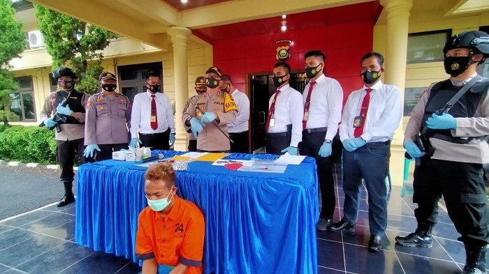 TIM Komodo Sat Reskrim Polres Ogan Ilir kembali Ungkap Kasus Tindak Pidana Senpi Rakitan