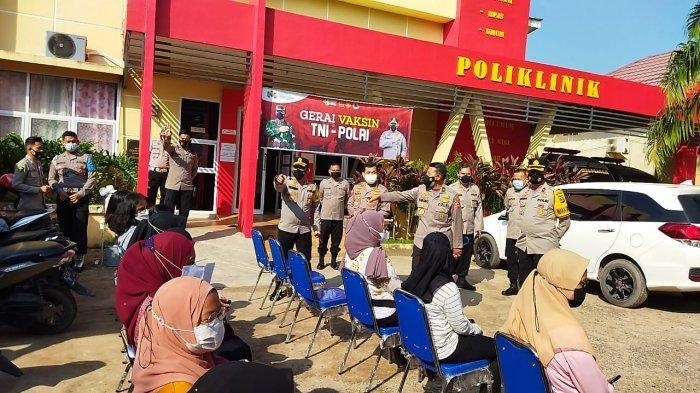 Tim Was Ops Mabes Polri Kunjungi Gerai Vaksin Poliklinik Polres Ogan Ilir