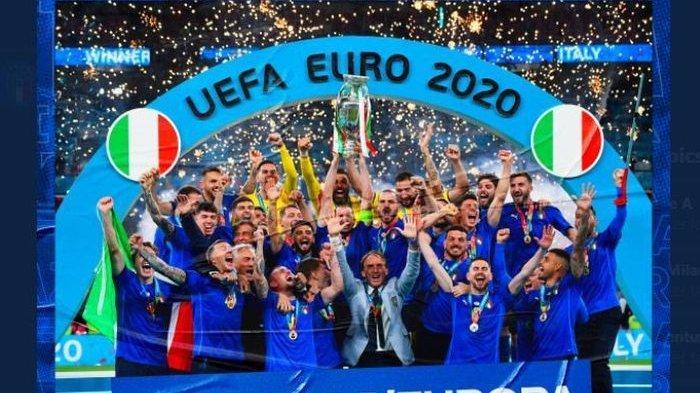 Skuat Pilihan 'Team of The Tournament' Euro 2020, Tak Ada Nama Cristiano Ronaldo, Italia Merajai