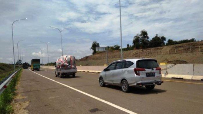 Tanpa Peresmian, Gubernur Herman Deru Operasikan Tol Kayuagung - Palembang Gratis
