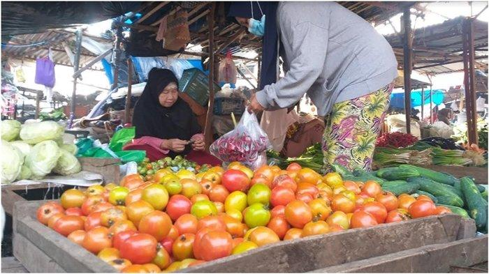 Melambung Tinggi, Harga Tomat di Pagaralam Capai Rp 12 Ribu per Kg, Sebelumnya Cuma Rp 300 per Kg