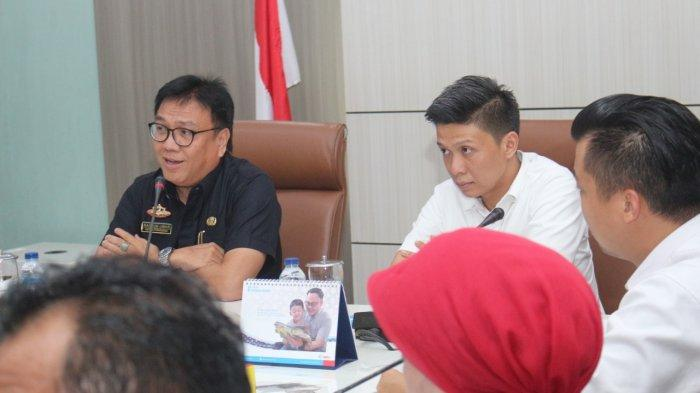 Pemprov Sumsel Mantapkan Persiapan International Triathlon
