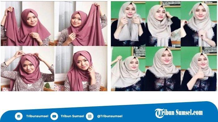 5 Aplikasi Tutorial Hijab Yang Mudah Digunakan Pakai Hijab Jadi Lebih Gampang Halaman 3 Tribun Sumsel