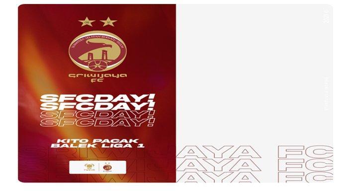 Twibbon Dukung Sriwijaya FC dan Muba Babel United dari Rumah, Bisa Langsung Digunakan