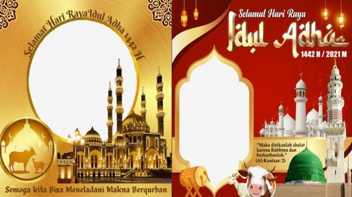 Cara Mudah Pasang Twibbon Idul Adha 1442 H/2021, Buat Bingkai Foto Menarik Jadi Foto Profil
