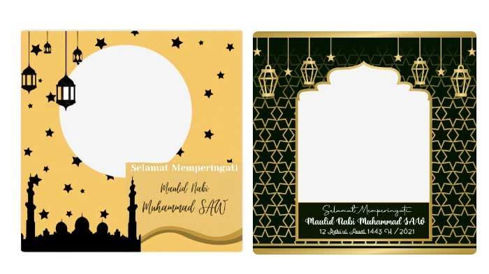 20 Link Download Twibboniez Maulid Nabi Muhammad SAW dengan Warna Bagus untuk Medsos Anak Muda
