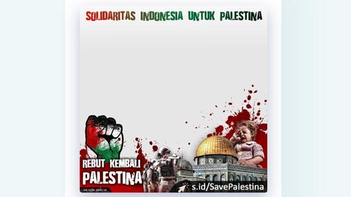 Twibbon Save Palestina