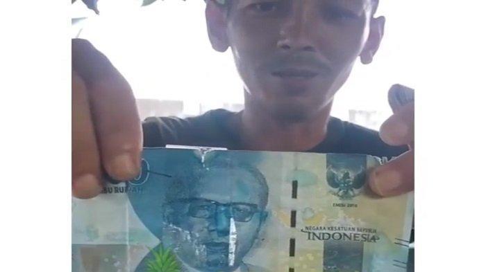 Viral, Jelang Lebaran Beredar Uang Palsu di Prabumulih, Diselidiki Polres