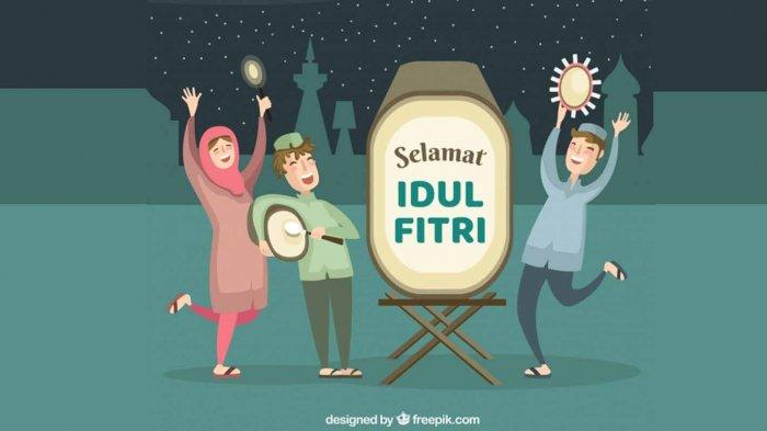 Arti Taqabbalallahu Minna wa Minkum Shiyamana wa Shiyamakum, Ucapan Selamat Hari Raya Idul Fitri