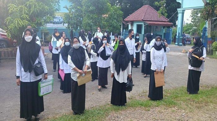 Hari Pertama Ujian Kompetensi PPPK Guru Lahat 2021, Ada yang Datang Pukul 06.00 WIB