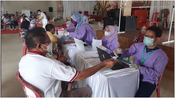 550 Umat Nasrani di Palembang Disuntik Vaksin, Prioritas Tokoh Agama dan Lansia