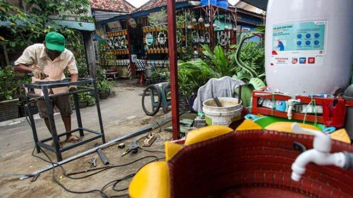 BERITA FOTO : Inovasi UMKM Untuk Negeri, Ciptakan Wastafel dari Ban Bekas dan Wajan Penggorengan - umkm-2.jpg