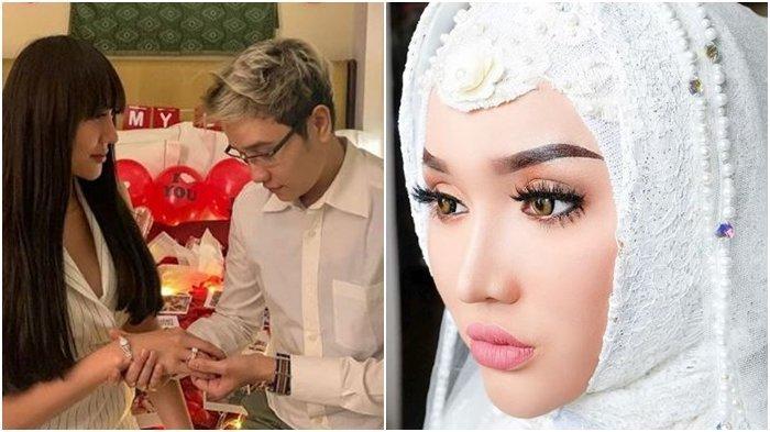Sudah Lamaran Sejak Mei 2019, Reaksi Abash Saat Ditanya Kapan Menikah dengan Lucinta Luna