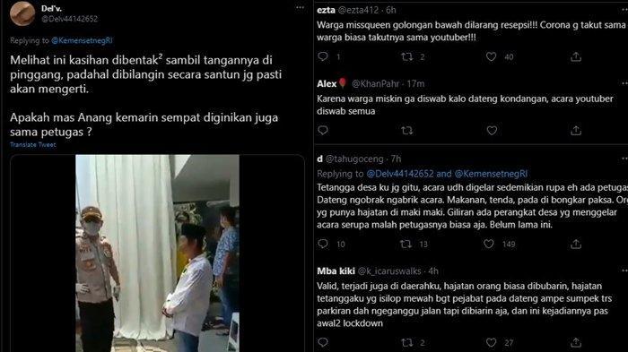 Protes Warganet soal Unggahan Pernikahan Atta-Aurel di Akun Twitter Sekretariat Negara, Minggu (4/4/2021)