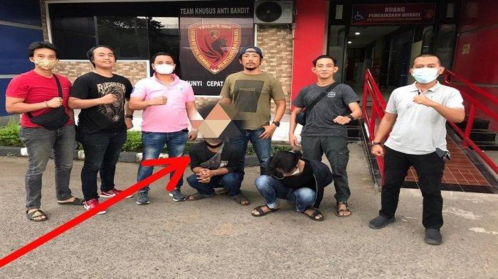 Senggolan Lalu Rampas Motor Hingga Minta Tebusan, Pria di Palembang Dibekuk Polisi