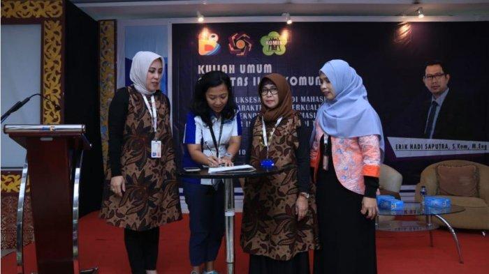 Tribun Sumsel dan Universitas Bina Darma Kerjasama Pemuatan Karya Mahasiswa ke Rubrik Gen Milenial