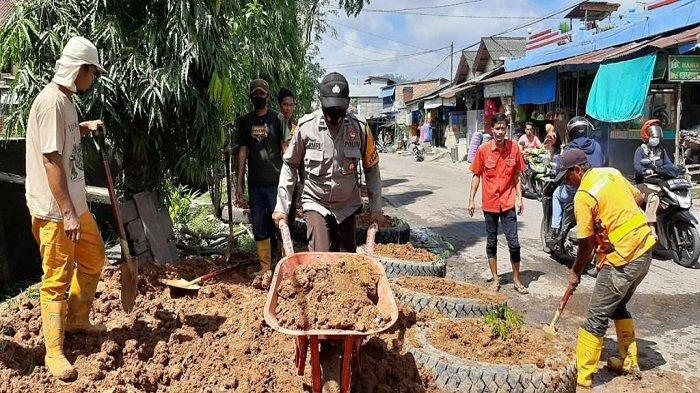 Unsur Tripika Lawang Kidul Bakal Tertibkan Kawasan Bedeng Kaca Tanjung Enim