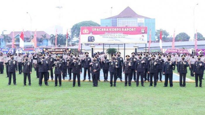 Hari Ini 802 Polisi di Sumsel Naik Pangkat, 33 Perwira dan 769 Bintara/ Tamtama