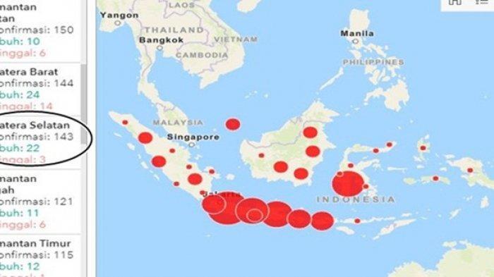 Tambahan Dua Positif Covid-19 OKI Tertular Dari Palembang