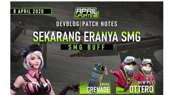 Update Garena Free Fire 8 April 2020, Ada Clash Squad, Karakter Baru, Hingga Event Bundle Permanen