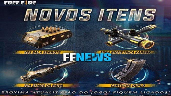 Update Free Fire Ff Terbaru Senjata Vss Kar98k M14 Mendapatkan Attachment Baru Tribun Sumsel