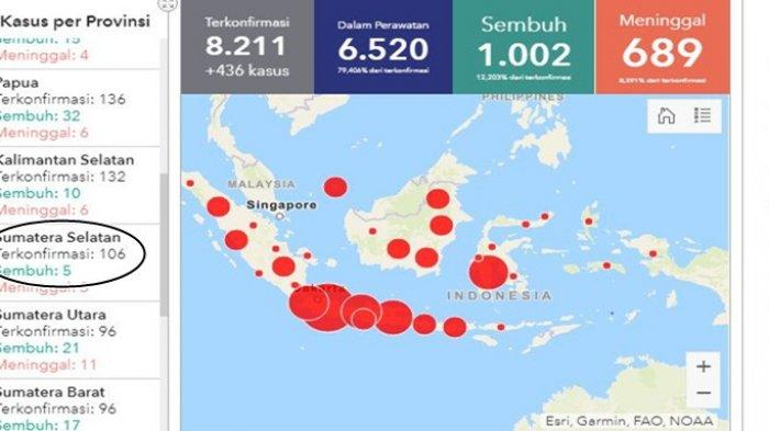 Bayi 4 Bulan Warga Ogan Ilir Positif Corona, Pulang dari Malaysia Belum Sempat ke Kampung Halaman