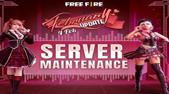 Free Fire (FF) Maintenance Server 4 Januari 2021 Sampai Jam Berapa ? Ini Update Terbaru