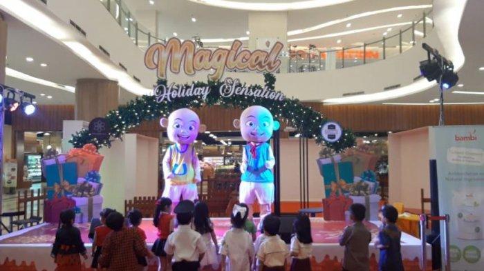 Pesta Hiburan Anak di Palembang Icon, Ini Jadwal Meet and Greet dengan Upin Ipin