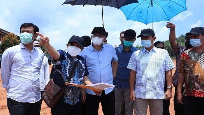 Tinjau Lokasi, Dirjen Bina Lattas Pastikan Pusat BLK Dibangun di Prabumulih