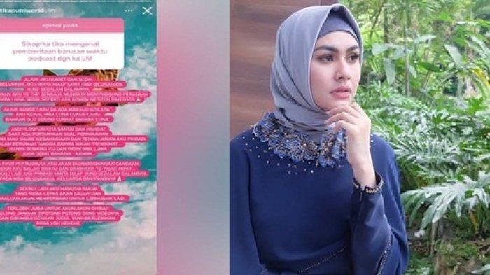 Lemparkan Pertanyaan Tidak Sopan Ke Luna Maya, Kartika Putri Ungkap Permintaan Maaf